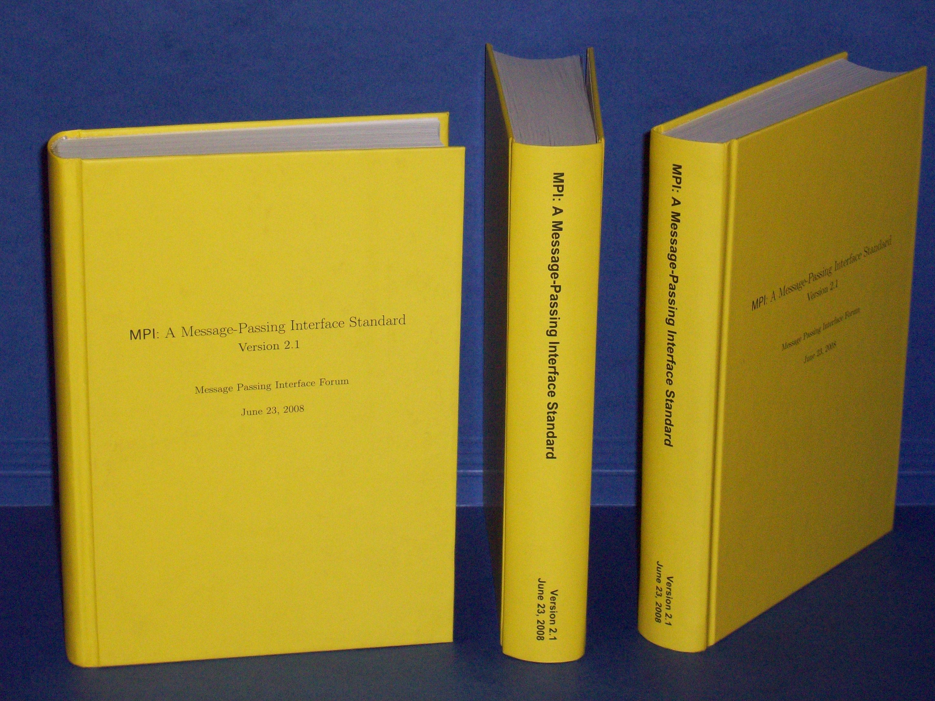 MPI 21 Hardcover Book
